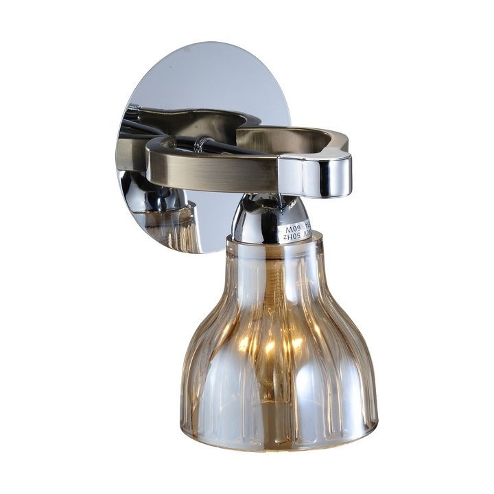 Бра 411 411-01-51CAB chrome + antique brass N-Light